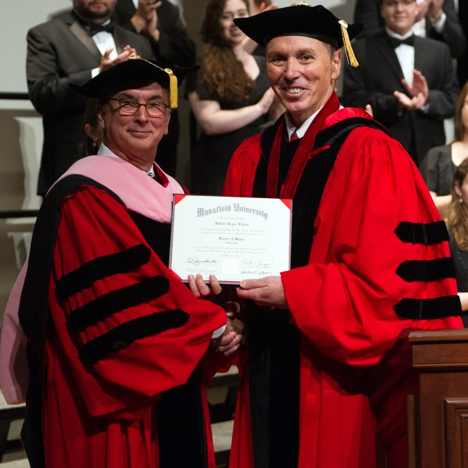 Honorary Degree Conferred on Broadway Musical Director Rob Fisher