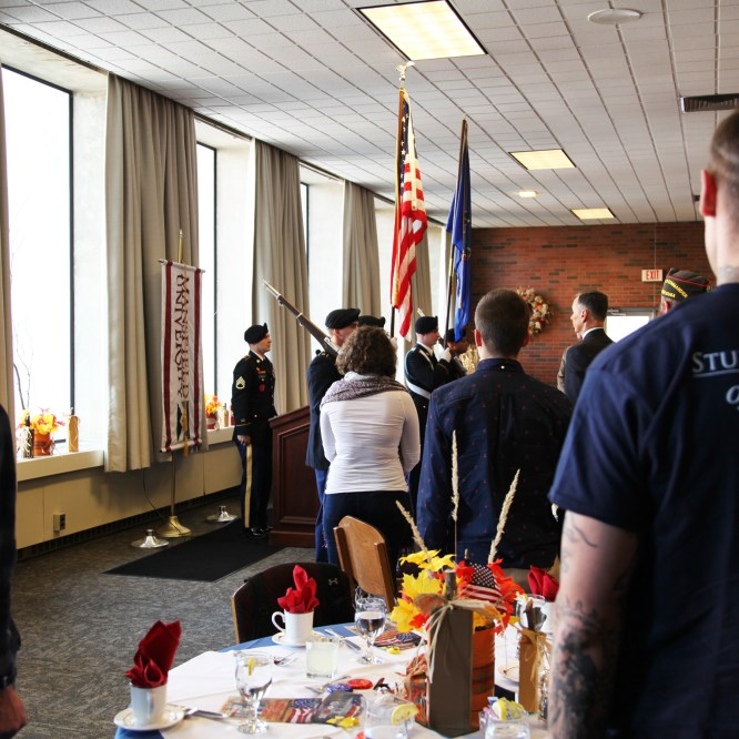 MU Veterans Honored at Luncheon