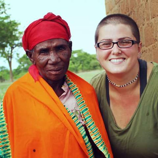 Molly Maroney '14 Featured in Peace Corp Story