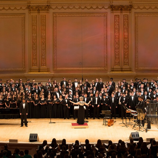 Concert Choir Takes Center Stage at Carnegie Hall