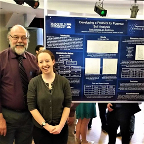 Emily Edwards Earns Earns Second Place for Poster Presentation