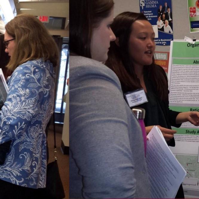Geosciences Students Present at Meeting