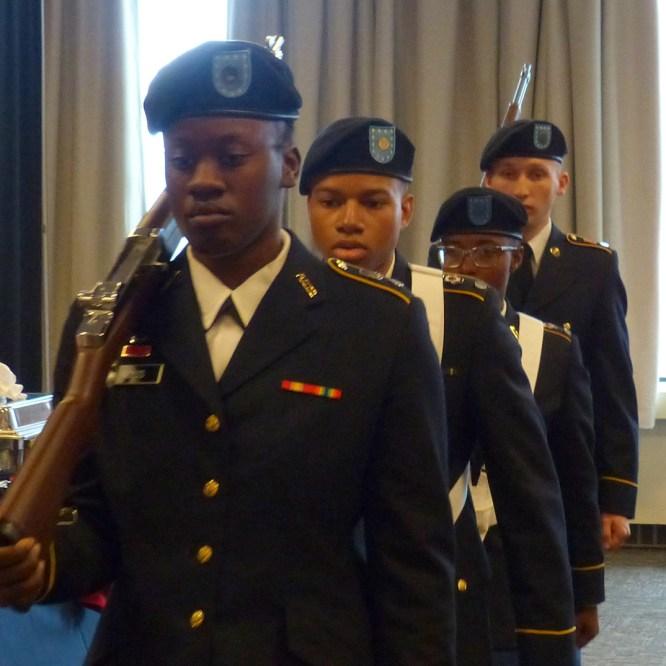 Mansfield University Honors Veterans