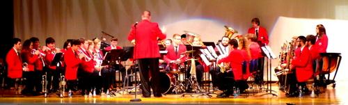 Mansfield Brass Band Performs Veterans Day Concert at Bath VA Hospital