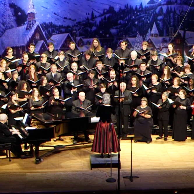 Holiday Choral Concert to Be Broadcast