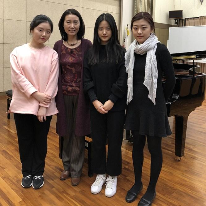 Eun-Joo Kwak Travels to South Korea to Teach