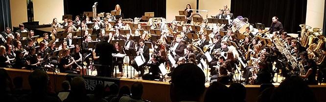 Mansfield Hosts the Pennsylvania Intercollegiate Band Festival