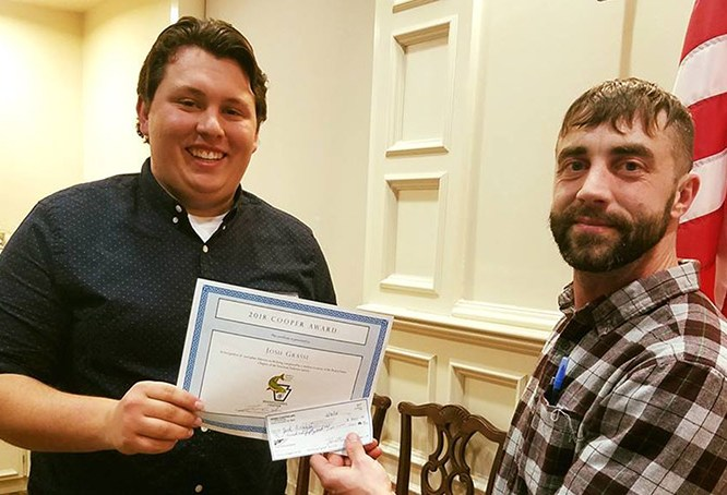 MU Student Receives Award for Outstanding Research