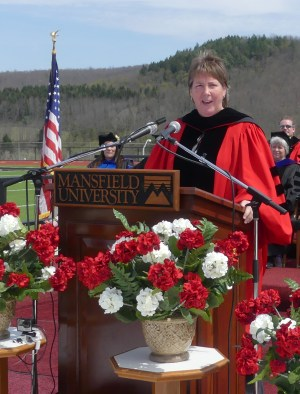 Dolores Stafford '87 was this year's keynote speaker.