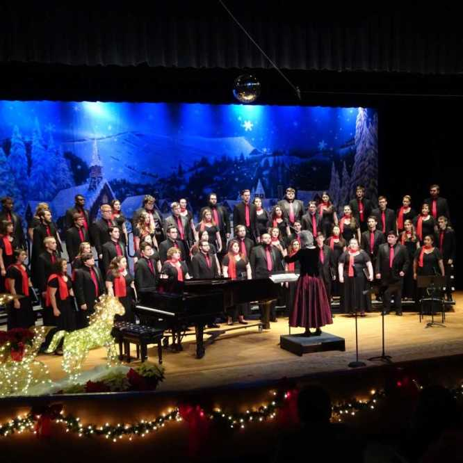 Holiday Choral Concerts set for December 1st and 2nd in Steadman Theatre