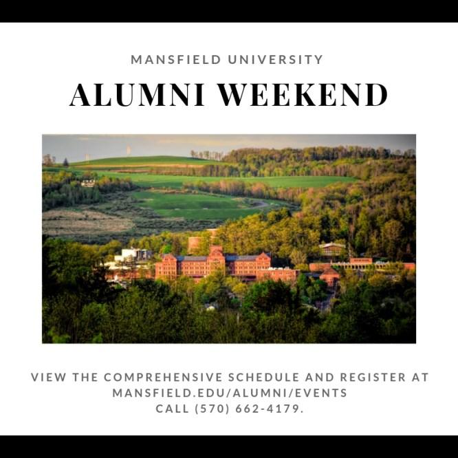 Mansfield University to Celebrate Alumni Weekend June 6-8