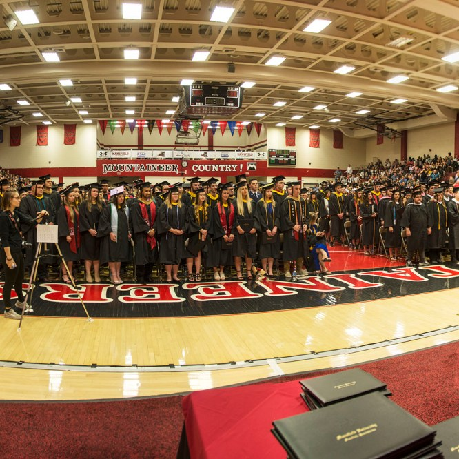 Mansfield University Celebrates 154th Spring Commencement