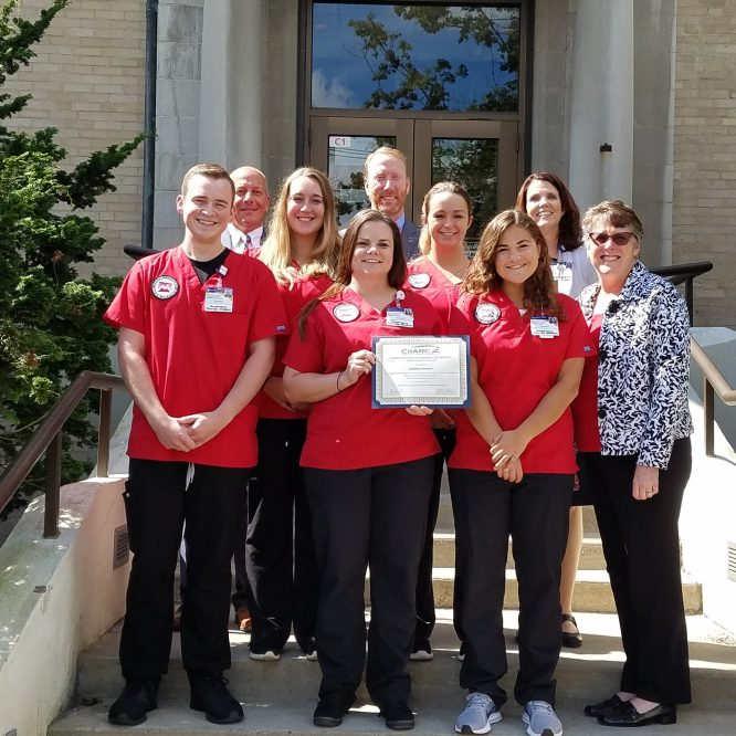 Program Recognized for Distinguished Registered Respiratory Therapist Success
