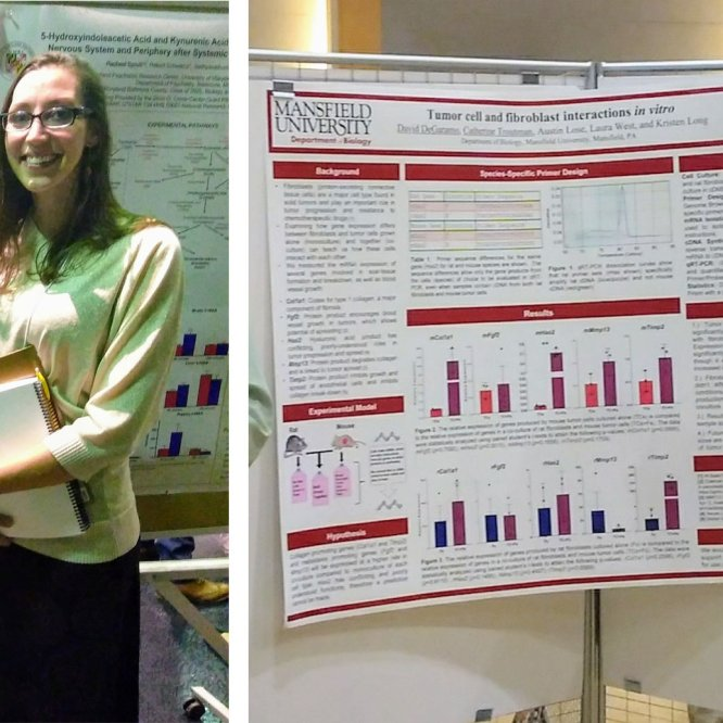 Mansfield University Biology Students Earn NASA Research Scholarships