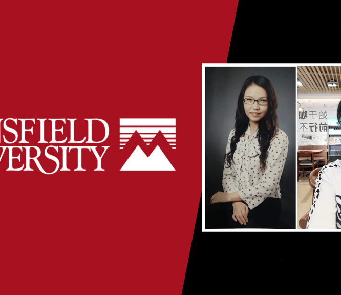 Mansfield University Welcomes Two Visiting Scholars from China