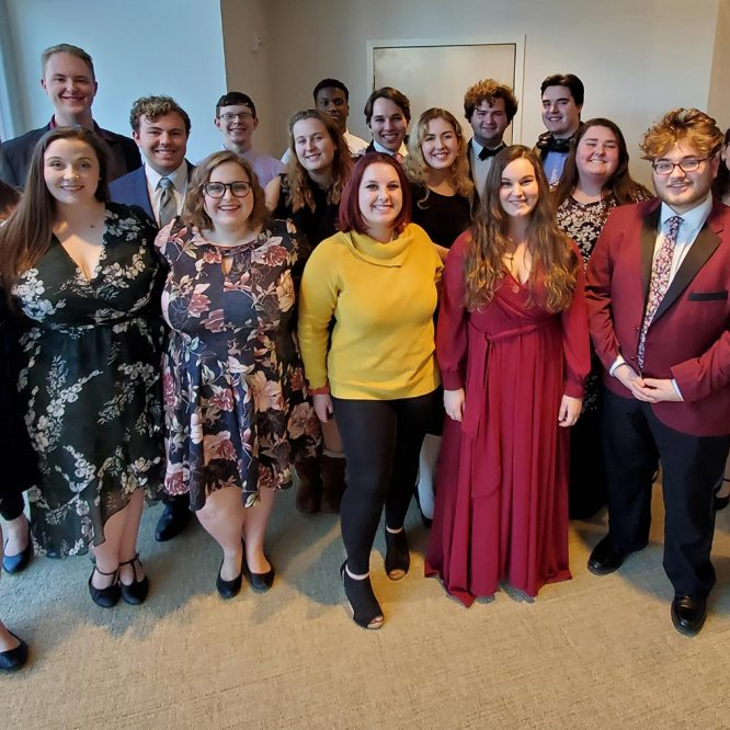 Mansfield University voice students compete and win at state competition