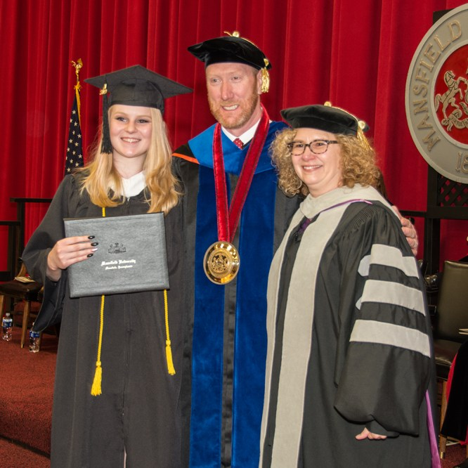 Mansfield University holds 155th Fall Commencement