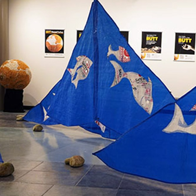 Loomis Art Gallery exhibits Purpose/Repurpose by Bridget Parlato