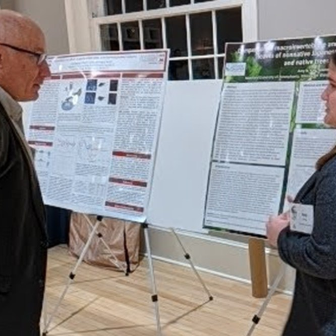 MU students present at PA American Fisheries Society Symposium; King wins best poster