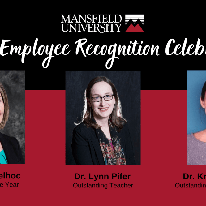 Mansfield University honors employees with annual awards and service recognition