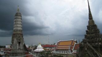 gloomy sky in bangkok