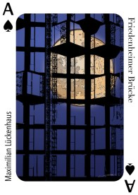Maximilian Lueckenhaus - Munich Artists Playing Card