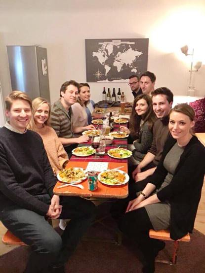 Expat Friendsgiving in Munich Germany