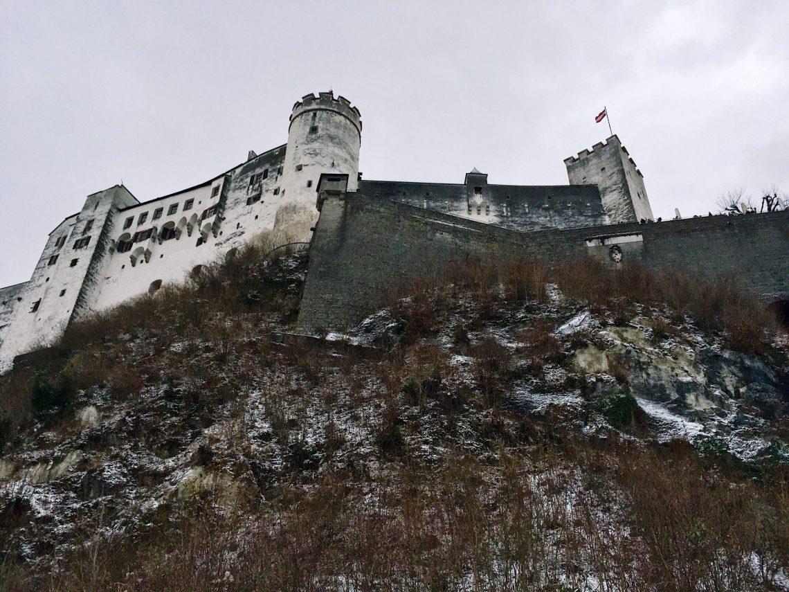 Hohensalzburg Fortress.