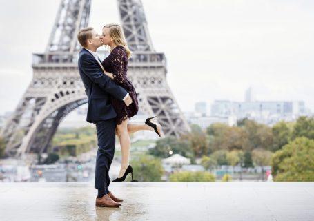 Paris fall couple photo ideas