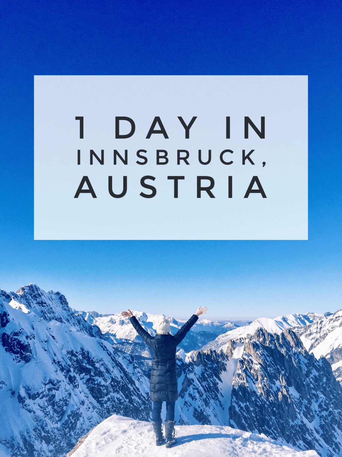 1 day in Innsbruck Austria Full guide