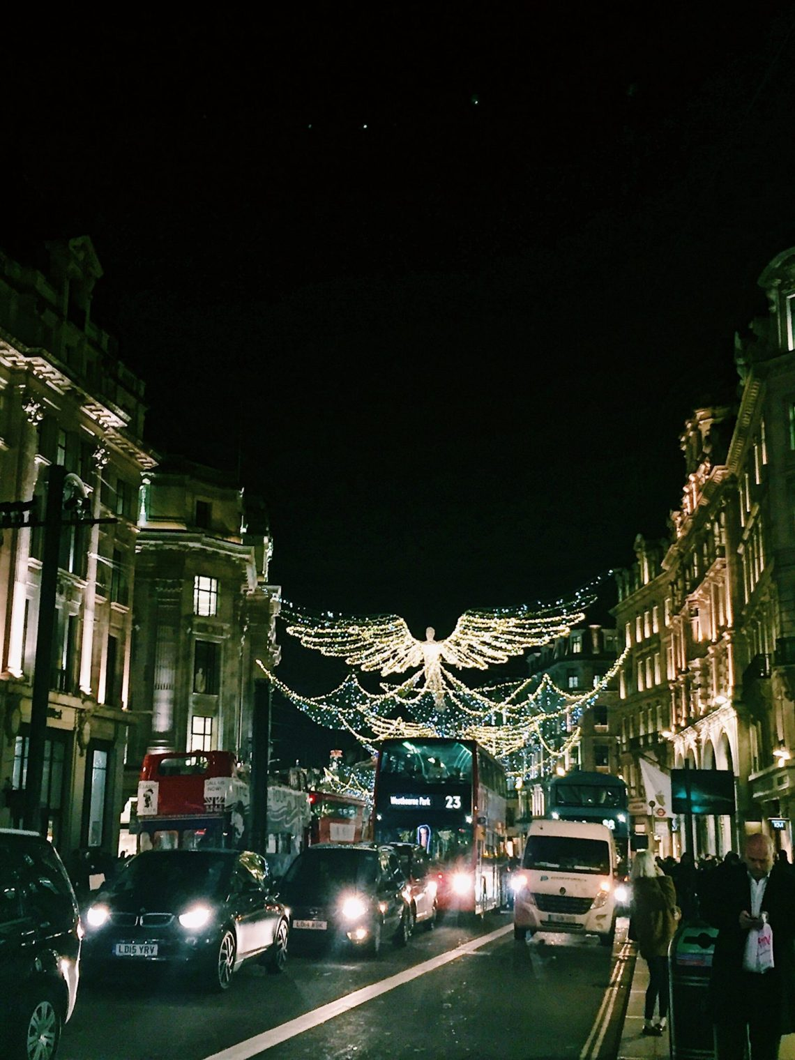 london christmas decorations