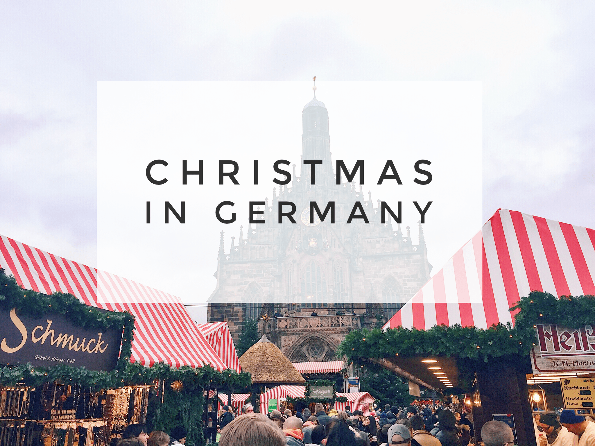 Christmas in Germany: Munich and Nuremberg Christmas markets