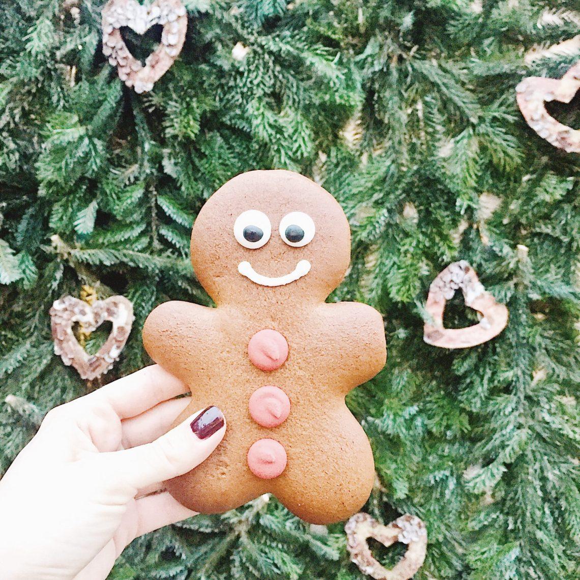 Gingerbread man Munich Christmas market