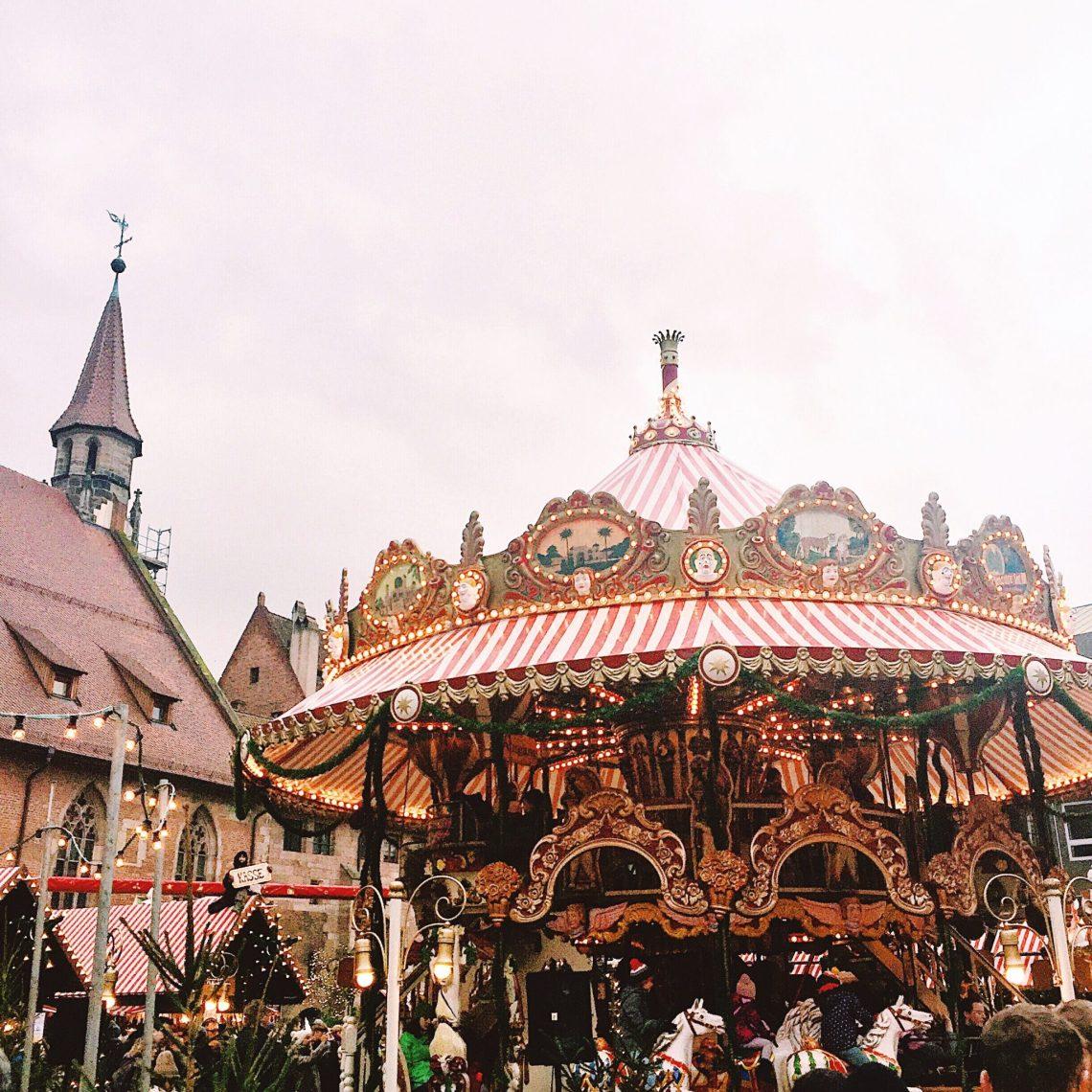 Nuremberg Christmas Market merry go round