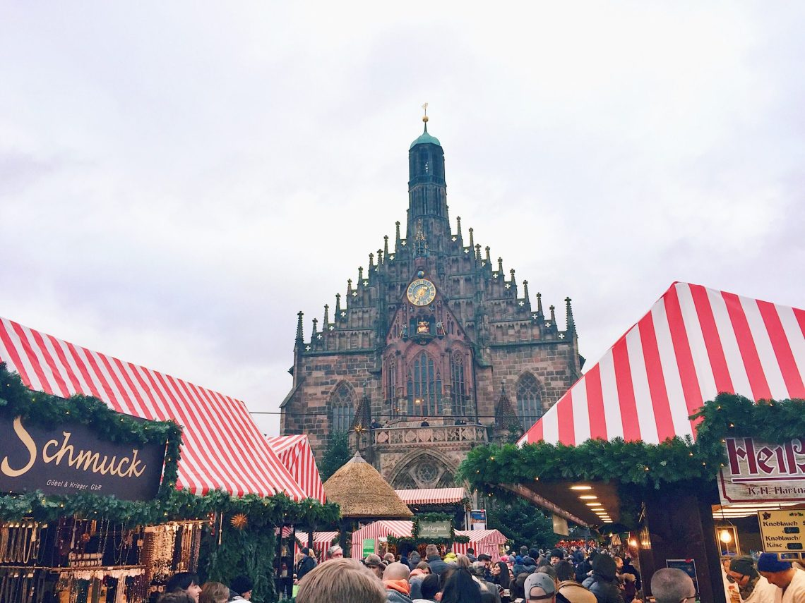 Nuremberg Germany Christmas Market