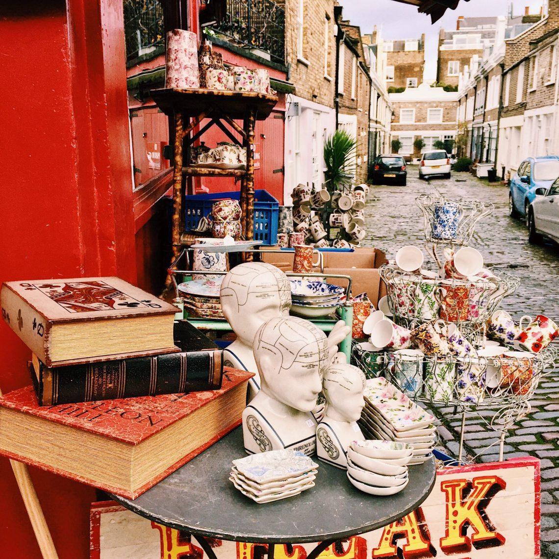 Portobello Road antiques Notting Hill