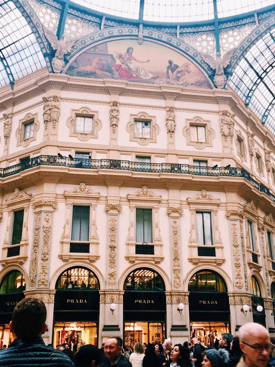 Shopping in Milan italy