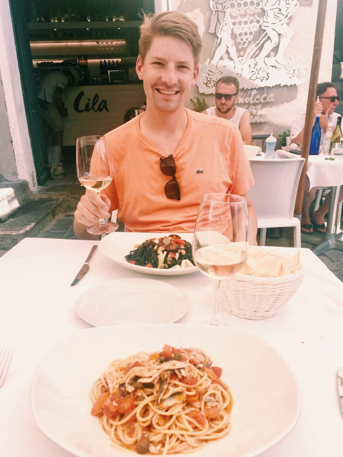 Dau Cila Restaurante Riomaggiore Italy