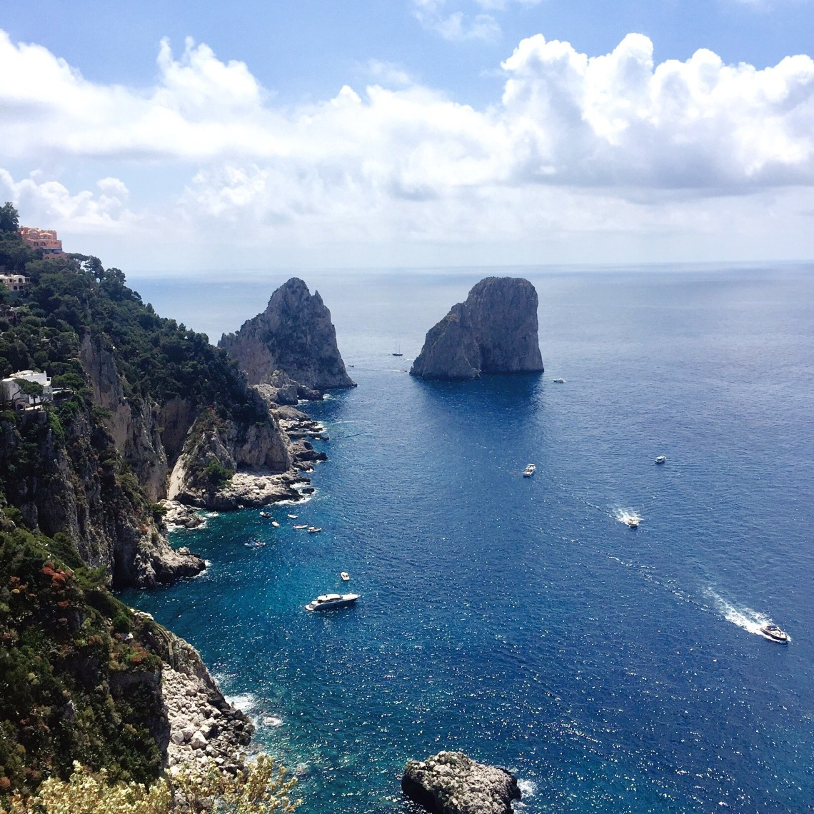 Capri in June