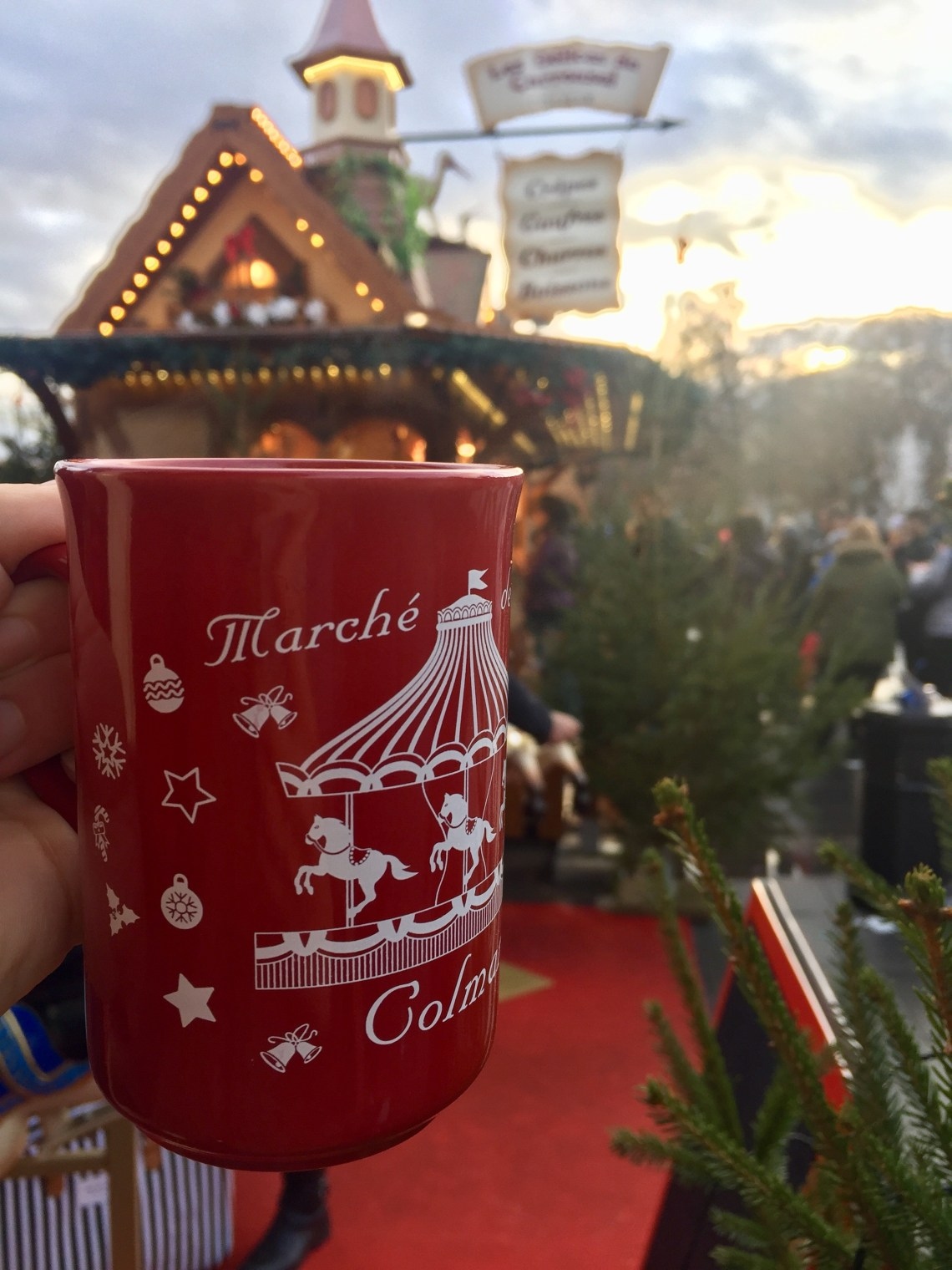 Vin Chaud at Christmas Markets in  Colmar