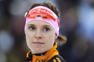 Sochi 2014 for the German team has been largely a tale of near misses and mishaps, and has ended with the nightmare of a failed doping test for two-time Olympic gold medallist Eva Sachenbacher-Stehle. -- photo: dpa