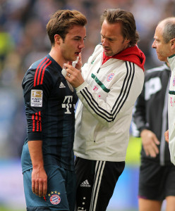 Mario Götze scored in both halves -- photo: dpa