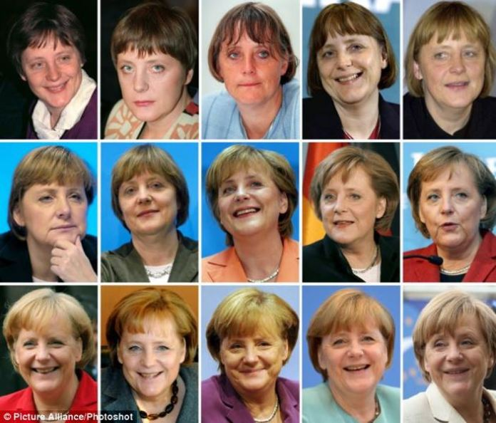 Angela Merkel over the years -- munichFOTO