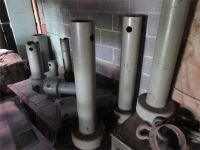 scrap metal pipes and other odd and end pieces pictured