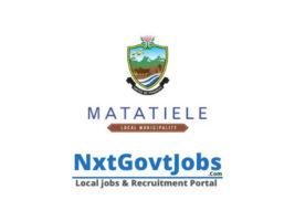 Matatiele Local Municipality Municipality vacancies 2021 | Alfred Nzo Government jobs | Eastern Cape Municipality vacancies