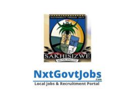 Sakhisizwe Local Municipality vacancies 2021 | Chris Hani Government jobs | Eastern Cape Municipality vacancies
