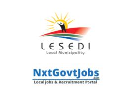 Lesedi Local Municipality vacancies 2021 | Sedibeng Government jobs | Gauteng Municipality vacancies