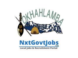 Okhahlamba Local Municipality vacancies 2021 | uThukela Government jobs | KwaZulu-Natal Municipality vacancies