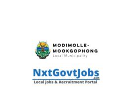 Modimolle-Mookgophong Local Municipality vacancies 2021 | Waterberg Government jobs | Limpopo Municipality vacancies