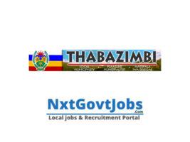 Thabazimbi Local Municipality vacancies 2021 | Waterberg Government jobs | Limpopo Municipality vacancies